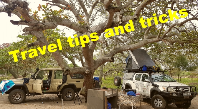 Camping and overland travel tips