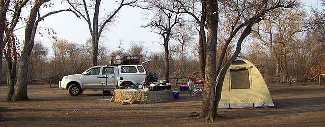 Mozambique Parks - Camping on wilderness Trail - Parque Nacional do LimpopoB.jpg